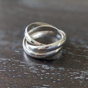 Silpada Sterling Silver Showtime Ring